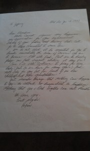 Papaw's Letter