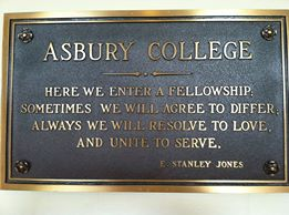 Photo credit: Mike Davis, fellow Asbury alumnus